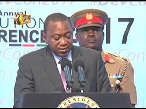 President Kenyatta officially opens forum in Naivasha