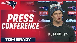 Tom Brady discusses how the team can improve over the bye