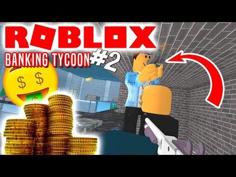 EN BANKRØVER! - Roblox Banking Tycoon Dansk Ep 2