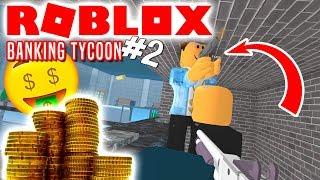 EN BANKR-VER! - Roblox Banking Tycoon Dansk Ep 2