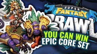 WIN an EPIC Super Fantasy Brawl Core Pledge with Mythic Games