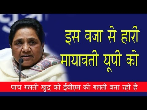 mayawati 5 major points bsp loose up elections 2017 latest news