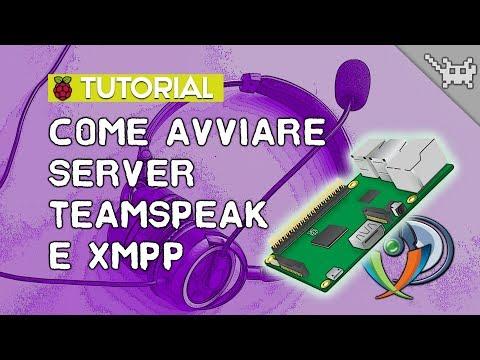 Come avviare server TeamSpeak e XMPP sul Raspberry Pi 3 ⊷ #gon_Tutorial
