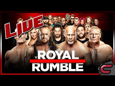WWE Royal Rumble 2017 Live Full Show January 29th 2017 Live Reactions