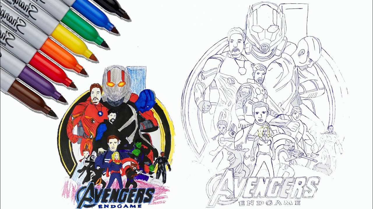 Iron Man Captain America Hulk Thor Coloring Pages The