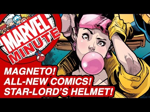Star-Lord's Helmet! Magneto! All-New Comics! - Marvel Minute 2015