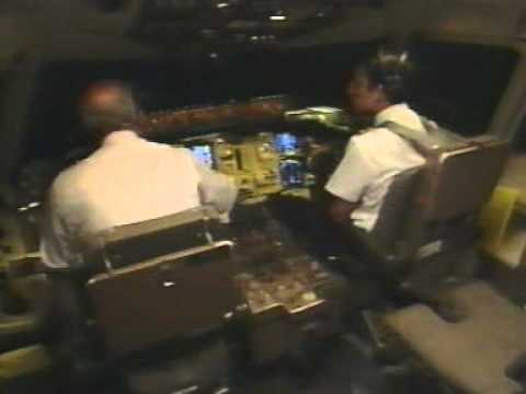 Aviation: Captain lost of situation awareness during approach