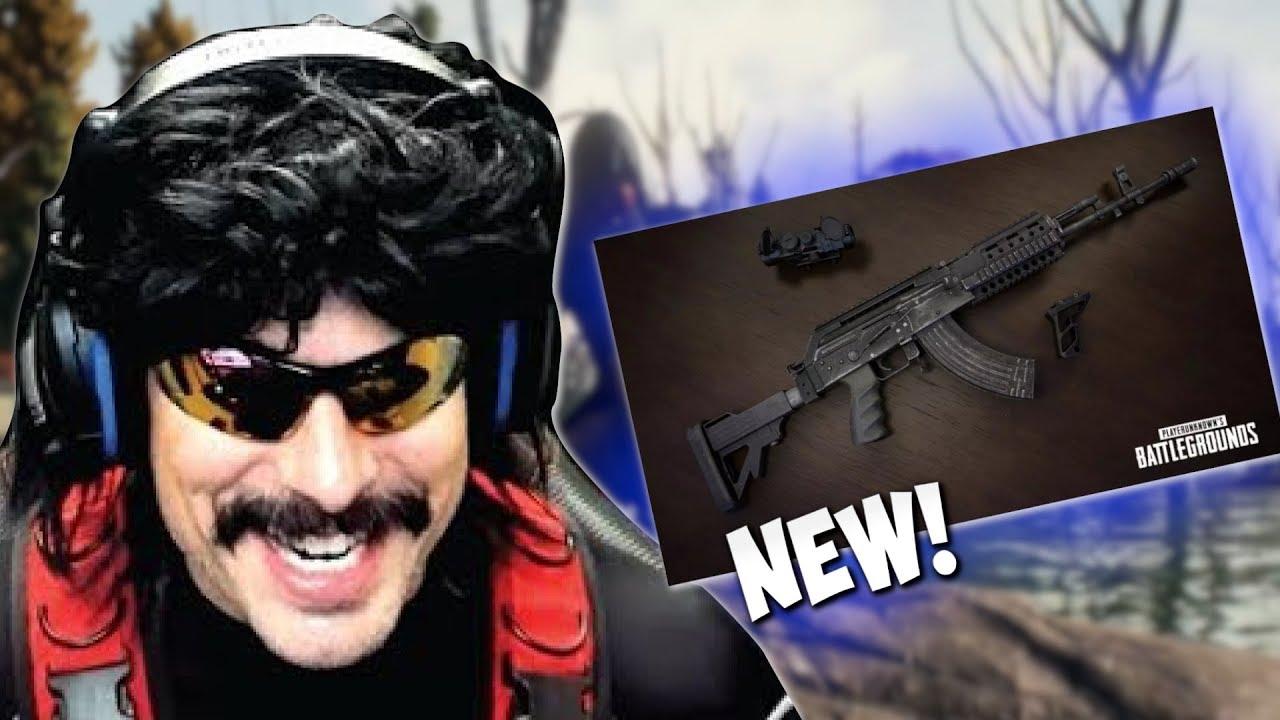 M762 Pubg: DrDisRespect Tries *NEW* BERYL M762 In PUBG