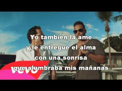 Romeo Santos - Yo También ft. Marc Anthony karaoke