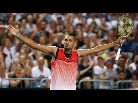 Nick Kyrgios - The craziest (2017 HD HIGHLIGHTS )