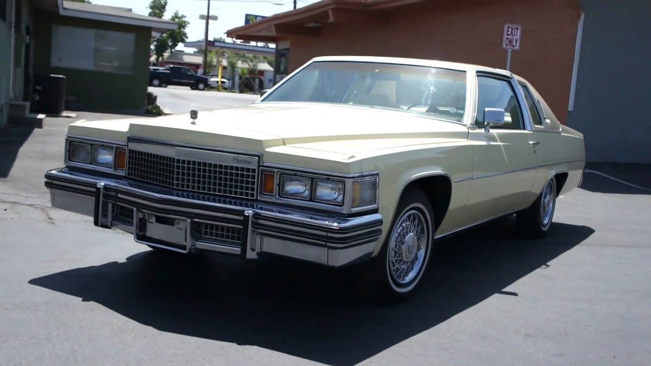 1979 cadillac coupe deville mint 1 owner brogham de elegance youtube. Cars Review. Best American Auto & Cars Review