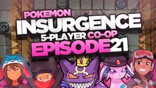 "Pokémon Insurgence 5-Player Randomized Nuzlocke - Ep 21 ""KYOGRE DON"
