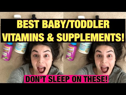 BABY / TODDLER / KID VITAMINS + SUPPLEMENTS! PICKY-EATER APPROVED!
