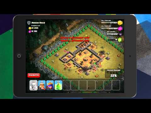 Clash of Clans - Level 28 (200 Barbarians) Arrow Head