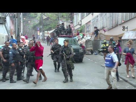 Intenso tiroteio leva pânico à zona sul do Rio