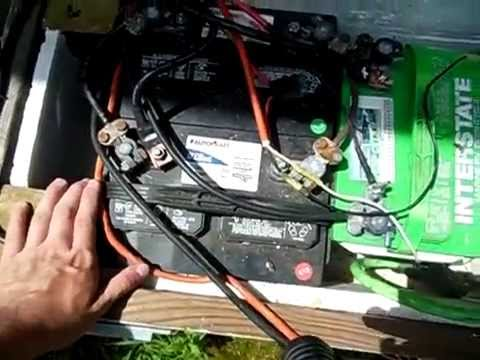 Using Old Car Batteries In A Solar Power System