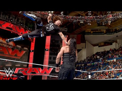 Thumbnail: Roman Reigns vs. Alberto Del Rio: Raw, April 25, 2016