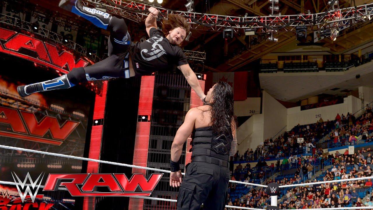 Natalya vs. Emma: Raw, April 25, 2016 - YouTube