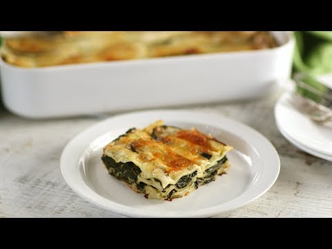 Spinach LasagnaEveryday Food with Sarah Carey