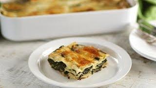 Spinach Lasagna- Everyday Food with Sarah Carey