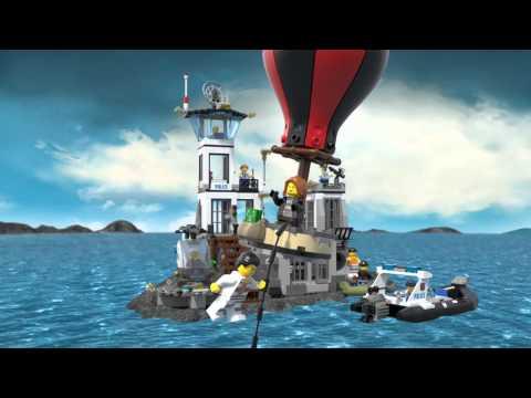 Prison Island - LEGO CITY - 60130 - Product Animation