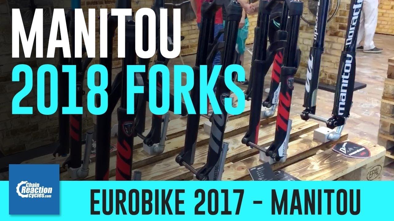 Manitou suspension forks 2018 quick look