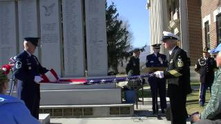 Veterans Day Celebration Folding The American Flag Part 3 of 6