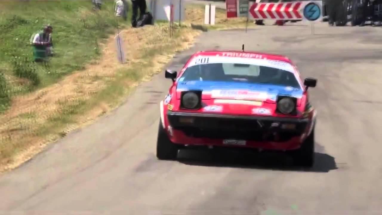 Triumph TR7 V8 RALLYE VHC Stéphane Poudrel