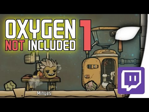 Oxygen Not Included #01 - Hey, haste mal 'ne Prise Frischluft? - (Livestream/Deutsch)