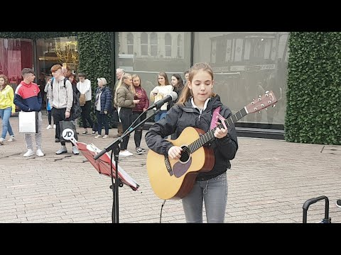 Sam Smith too good at goodbyes cover by Allie Sherlock