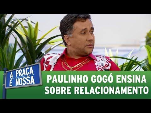 A Praça é Nossa (30/06/16) - Paulinho Gogó ensina sobre relacionamento