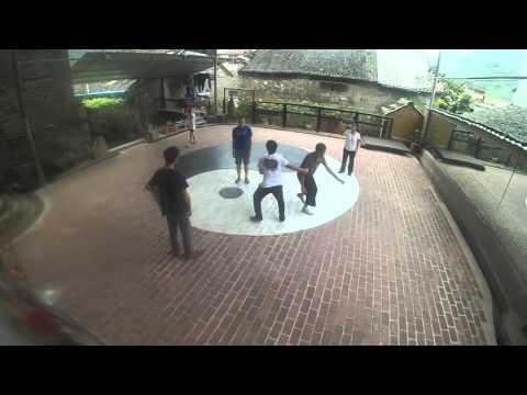 Tai Chi Training in Traditional Tai Chi School Yangshuo