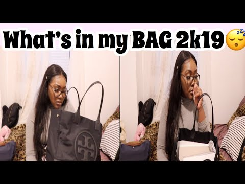 What's in my bag 2019😴✨ thumbnail