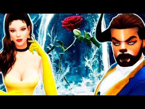 La Bella y la Bestia (2017) Disney | Los Sims 4 (Emma Watson)