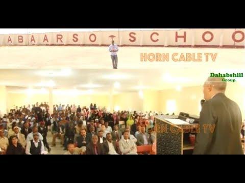 Abaarso School Oo La Aqoonsaday