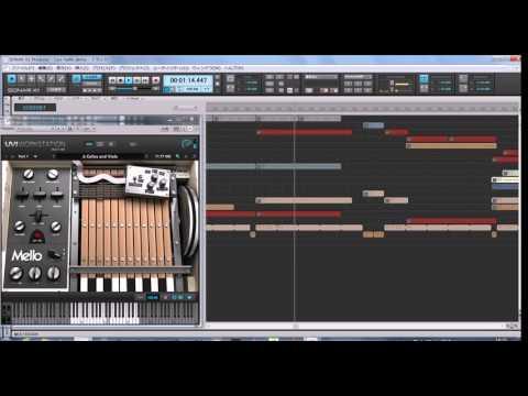 UVI Vintage Vault- Mello(Mellotron)demo