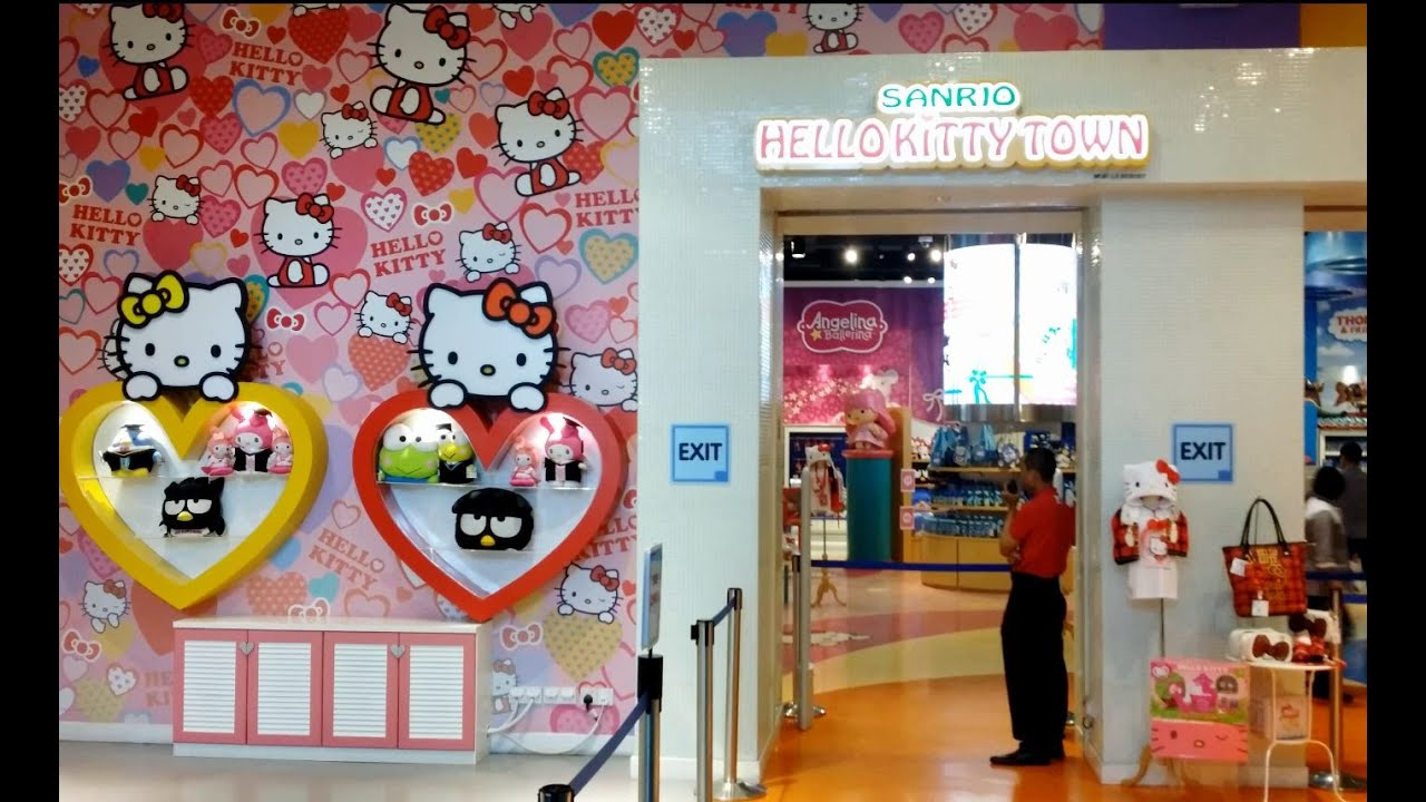 Image result for sanrio hello kitty town