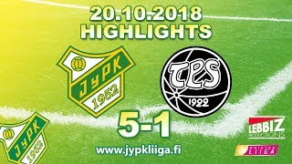JyPK - TPS 20.10.2018 Highlights!