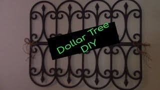 Dollar Tree Diy Garden Fence Wall Decor