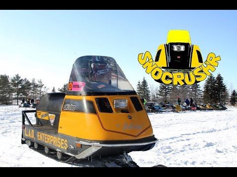 Ski Doo Skandic >> Whiskey Ditch Relic Ride 2015 vintage snowmobiles. - YouTube
