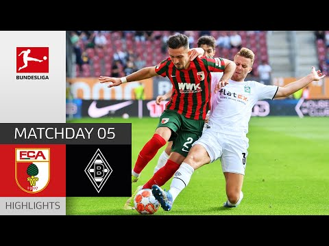 Augsburg Borussia Moenchengladbach Goals And Highlights