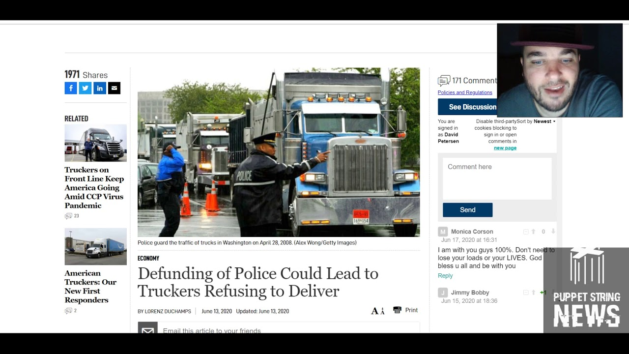 Desperate Dems want DC as 51st state, truckers warn they will not deliver to areas defunding police