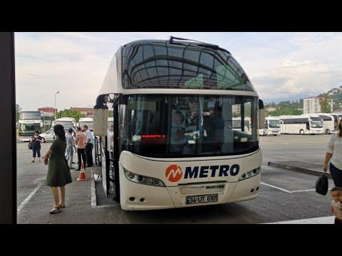 Как добраться Грузия Турция на автобусе