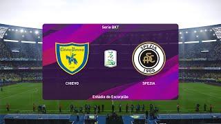 PES 2020   Chievo vs Spezia - Italy Serie B Play Offs   08/08/2020   1080p 60FPS