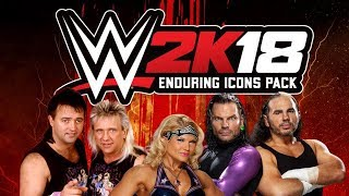 WWE 2K18 | PROBAMOS A LOS HARDY (Enduring Icon Pack)