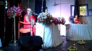 Massanne Vijitha Thero at Sri Sumangala College, Nildandahinna - Walapane  Nuwara Eliya