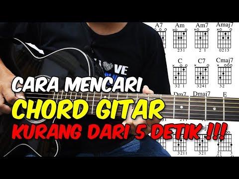 Cara Mencari Chord Gitar Kurang Dari 5 Detik!!! Sangat Mudah Buat Pemula