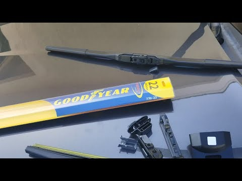 How to replace wipers on Jeep Grand Cherokee 15 16 17