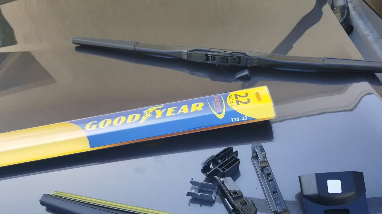 How to replace wipers on Jeep Grand Cherokee 15 16 17 - Costco Goodyear