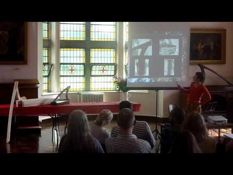 Natalie Surina: Recreating an 18th-century Irish harp. Scoil na gCláirseach 2016
